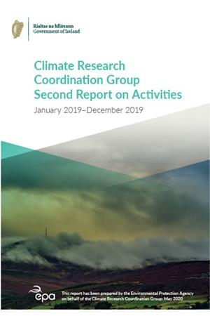 Climate Research Coordination Group 2019 Annual Report cover