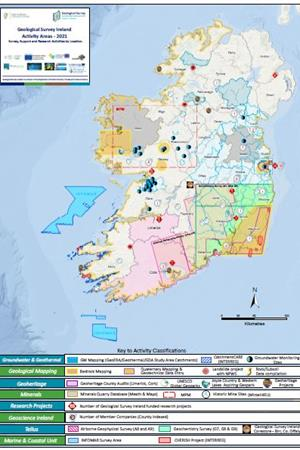 Geological Survey Ireland Activity Map 2021
