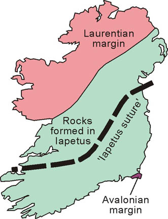 Map Of Ireland Midlands.Geology Of Ireland