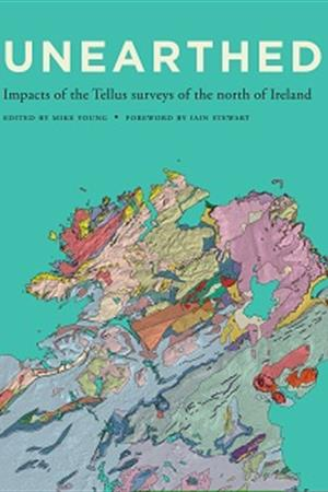 Map Of Ireland Book.Tellus Book Unearthed Impacts Of The Tellus Surveys Of The North