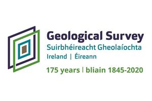 Geological Survey Ireland 175 Anniversary logo